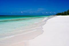 plaża odosabniająca Zdjęcia Stock
