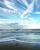 Plaża PRZED PATRICK ` S bazą lotniczą W MELBOURNE, FLORYDA zdjęcia stock