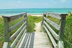 plaża przejście Fotografia Stock