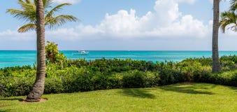 Plaża przy turkami i Caicos zdjęcia stock