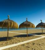 Plaża, słońce, lato, morze, Błękitny Zdjęcia Royalty Free
