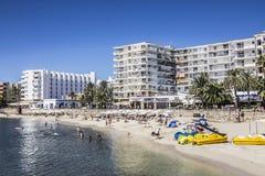 Plaża Sta Eularia Obrazy Royalty Free