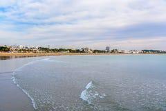 Plaża w Agadir mieście, Maroko Obrazy Stock