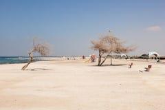 Plaża w Bahrajn Zdjęcia Royalty Free