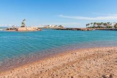 Plaża w Egipt obrazy royalty free