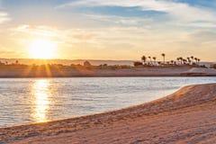 Plaża w Egipt zdjęcia stock