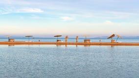Plaża w Egipt fotografia stock