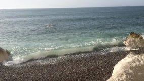 Plaża w Fecamp zdjęcie wideo