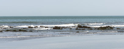 Plaża w Gambia Zdjęcie Royalty Free