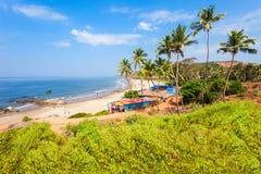 Plaża w Goa, India zdjęcie royalty free