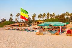 Plaża w Goa, India fotografia stock