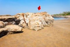 Plaża w Goa, India zdjęcia stock