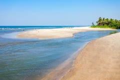 Plaża w Goa, India zdjęcie stock