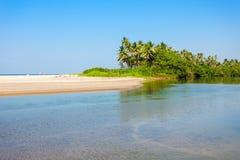 Plaża w Goa, India obraz royalty free