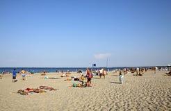 Plaża w Sopocie, morze bałtyckie, Polska Obraz Stock
