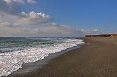 Plaża w wodołazie fotografia stock