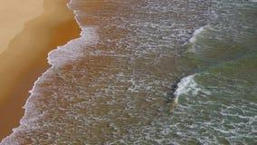 Plaża z fala zdjęcie wideo