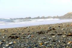 Plaża z głazami Obraz Royalty Free