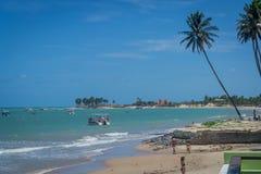 Plaże Brazylia, Maracajau - RN fotografia stock