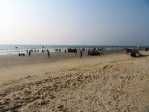 Plaże Goa i wybrzeże zdjęcia royalty free