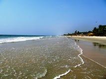 Plaże Goa i wybrzeże zdjęcia stock