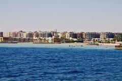 Plaże Hurghada zdjęcia royalty free