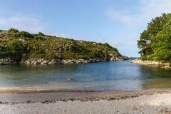 Plaże i falezy obraz stock