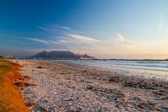 Plaże i Stołowa góra Zdjęcie Stock