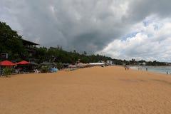 Plaże i wybrzeże przy Koggala w Sri Lanka obraz stock