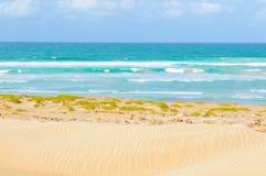 Plaże przylądek Verde, Afryka Fotografia Royalty Free