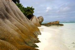 Plaże Seychelles obraz stock