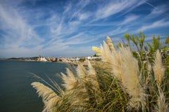 Plaże Sitges, Catalonia, Hiszpania obrazy stock