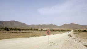 Plaże St josè, cabo de Gata, Andalusia, Hiszpania, Europe, widok fotografia royalty free