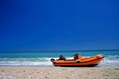 plażowa łódź Obraz Stock