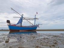 plażowa łódź Obrazy Stock