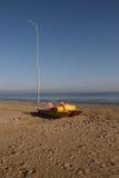 plażowa łódź Obraz Royalty Free