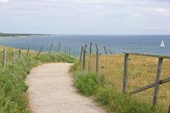 Plażowa ścieżka Fotografia Royalty Free