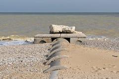 Plażowa ściekowa rozładowanie tubka obraz royalty free