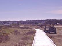 Plażowa boardwalk wiosna 3552 fotografia royalty free