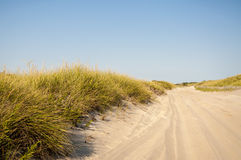 Plażowa droga obraz royalty free