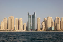 plażowa Dubai jumeirah siedziba zdjęcia royalty free