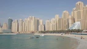 plażowa Dubai jumeirah siedziba zbiory wideo