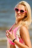 plażowa dziewczyna dosyć Zdjęcie Royalty Free