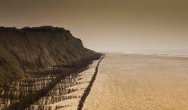 plażowa faleza zdjęcie royalty free