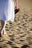 plażowa kobieta zdjęcia royalty free