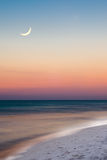 plażowa miasta Florida noc Panama scena fotografia royalty free