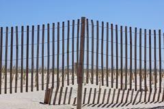Plażowa Płotowa scena Obraz Stock