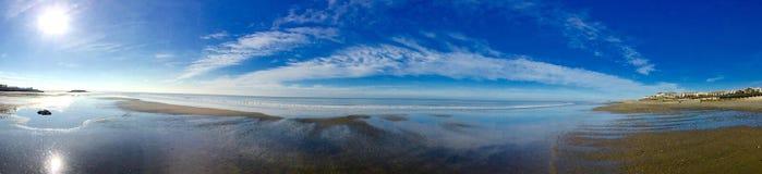 Plażowa panorama Zdjęcia Royalty Free