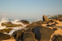 plażowa piękna wyspa Zdjęcie Stock
