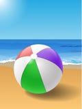 Plażowa piłka Fotografia Stock